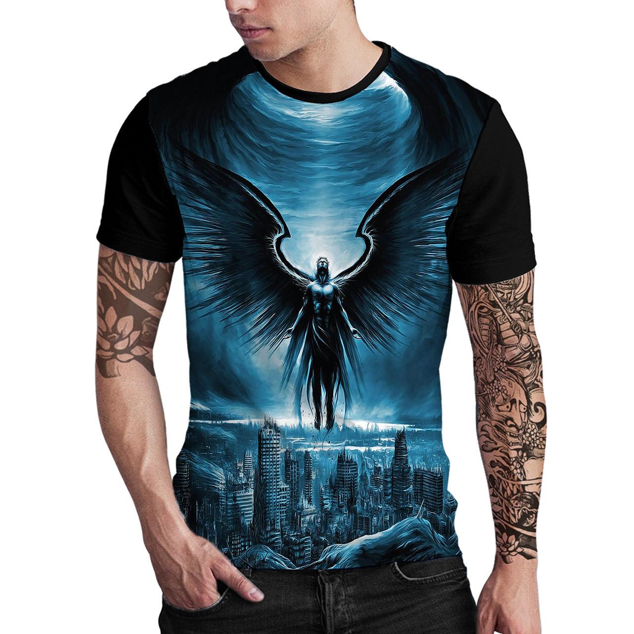 Stompy Camiseta Estampada Masculina Modelo 105