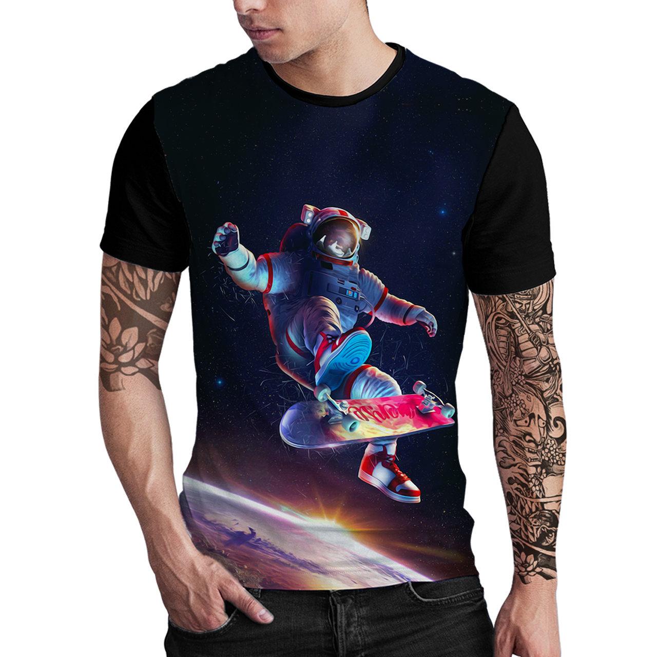 Stompy Camiseta Estampada Masculina Modelo 111