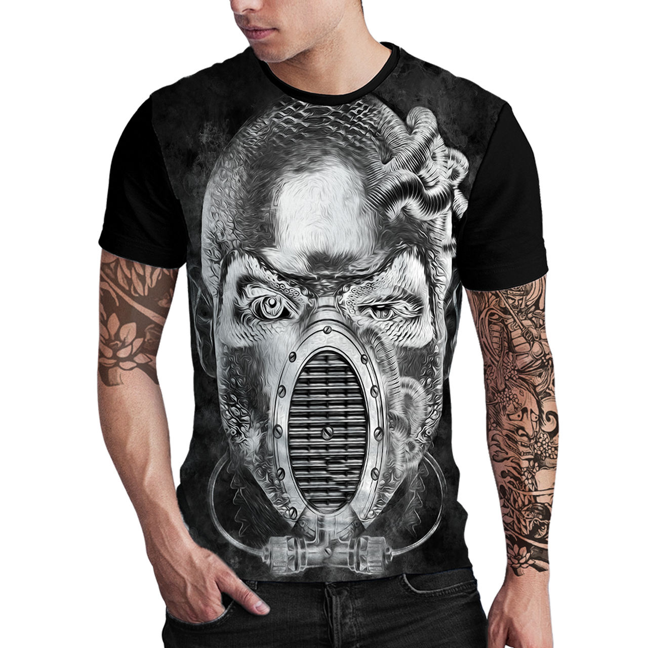Stompy Camiseta Estampada Masculina Modelo 122