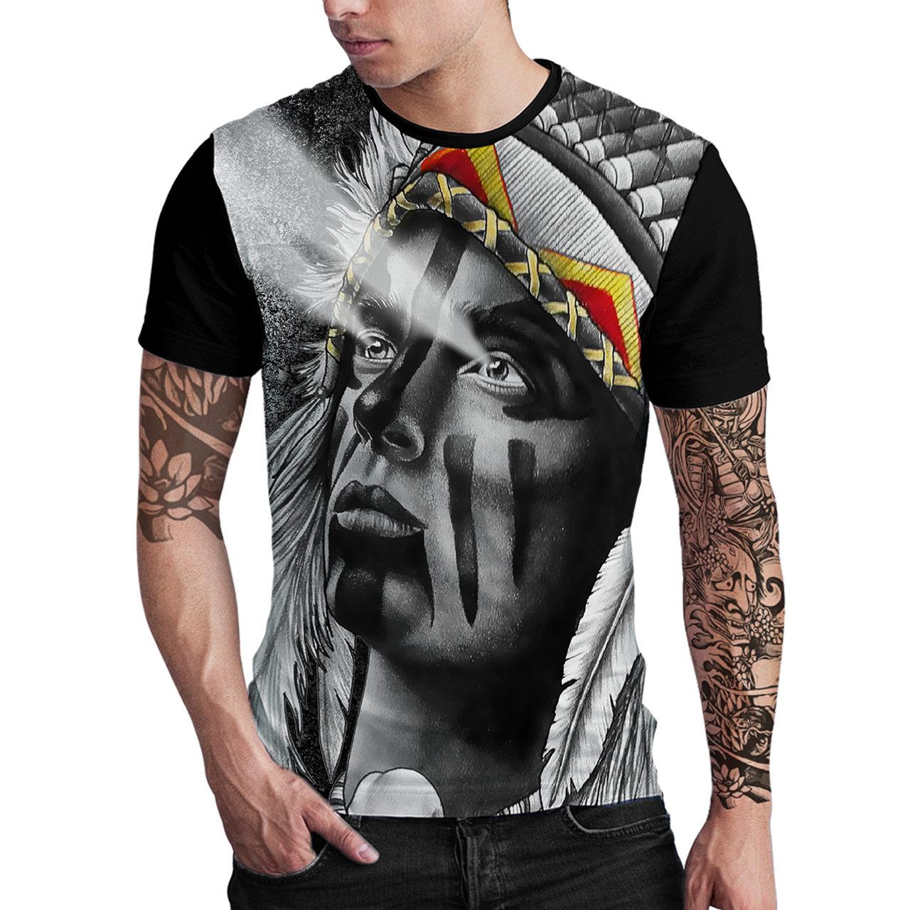 Stompy Camiseta Estampada Masculina Modelo 127