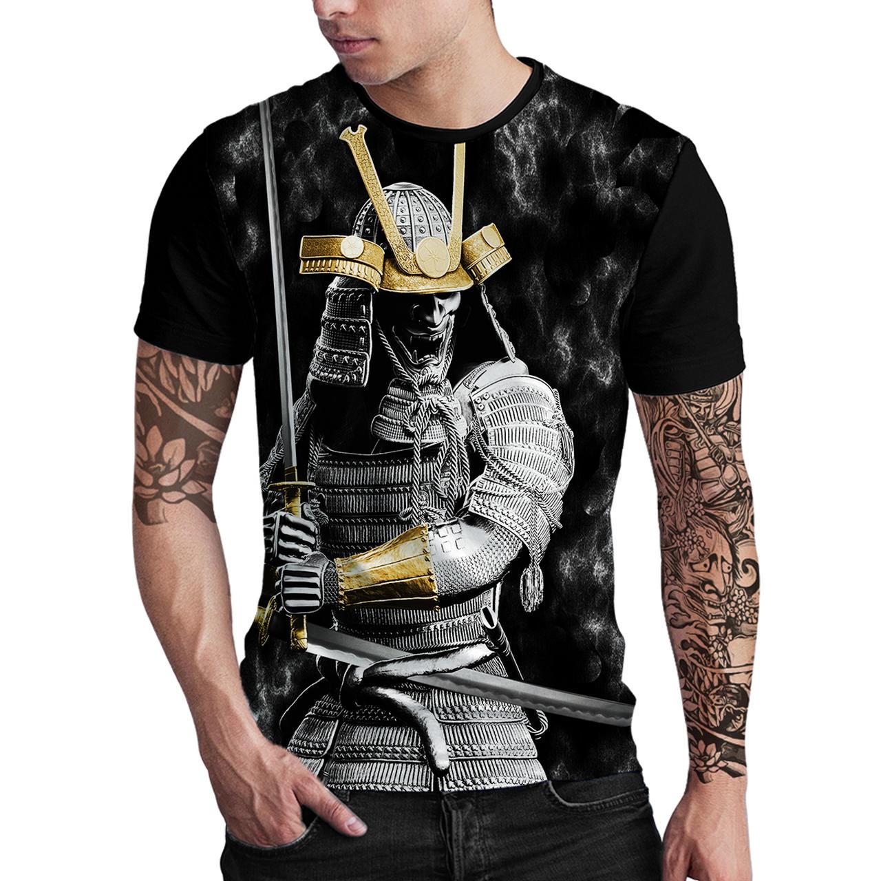 Stompy Camiseta Estampada Masculina Modelo 137