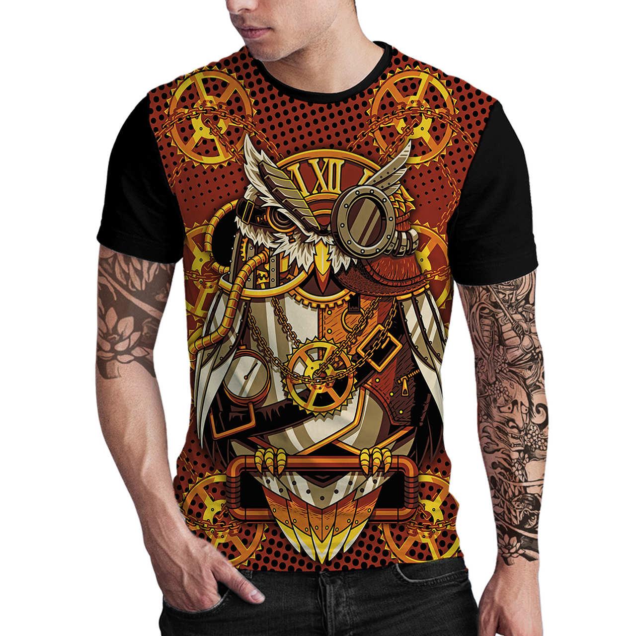 Stompy Camiseta Estampada Masculina Modelo 140
