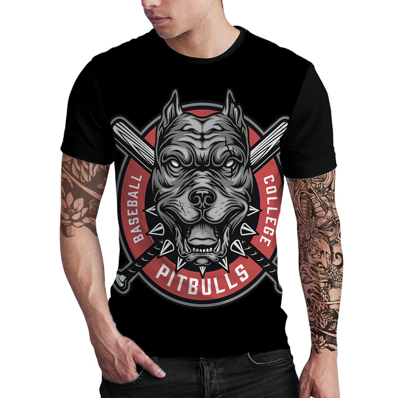 Stompy Camiseta Estampada Masculina Modelo 151