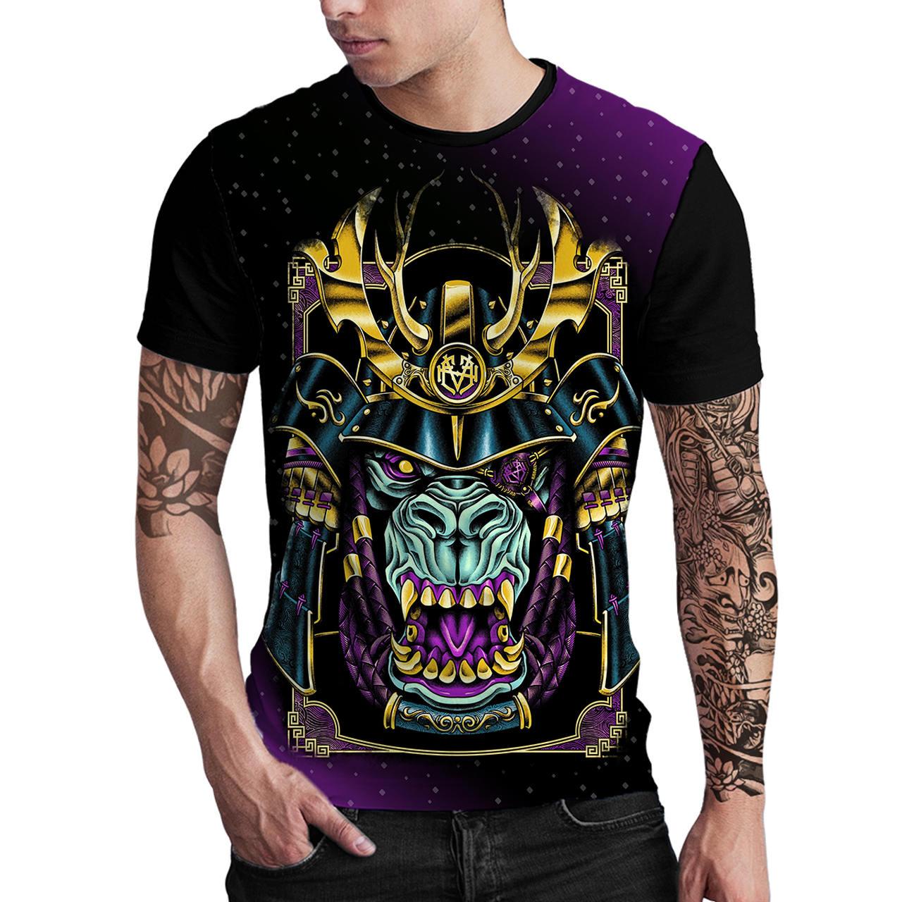 Stompy Camiseta Estampada Masculina Modelo 23