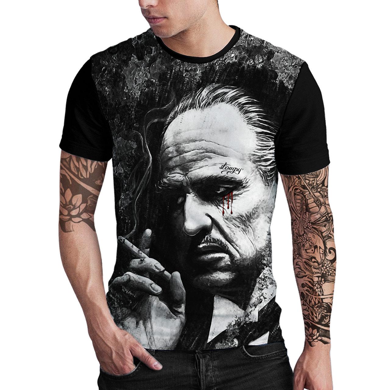 Stompy Camiseta Estampada Masculina Modelo 28