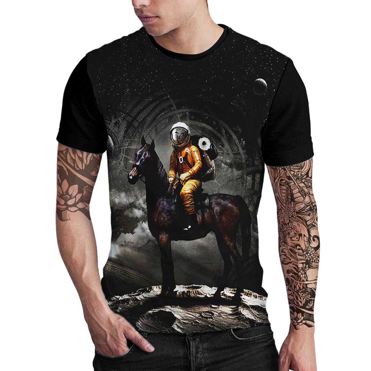 Stompy Camiseta Estampada Masculina Modelo 29