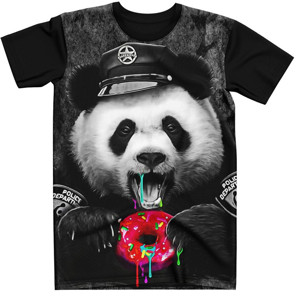 Stompy Camiseta Estampada Masculina Modelo 31