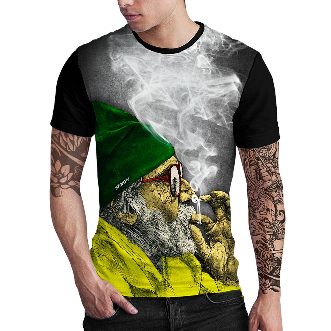 Stompy Camiseta Estampada Masculina Modelo 32