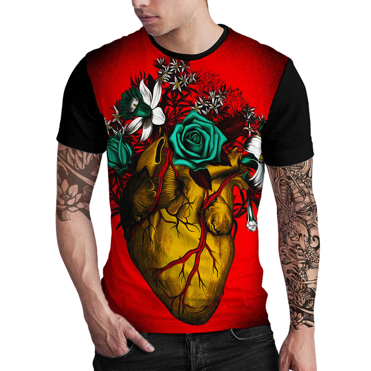 Stompy Camiseta Estampada Masculina Modelo 41