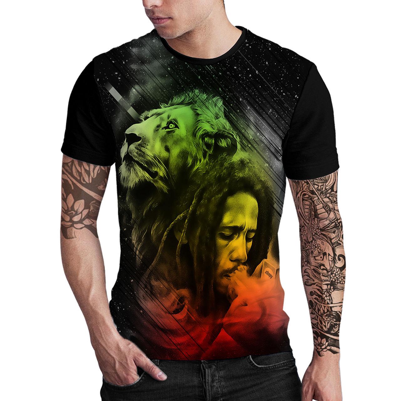 Stompy Camiseta Estampada Masculina Modelo 43