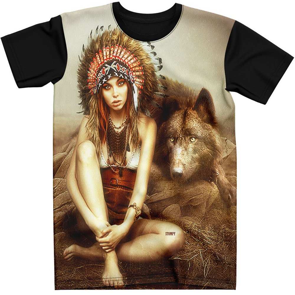 Stompy Camiseta Estampada Masculina Modelo 45
