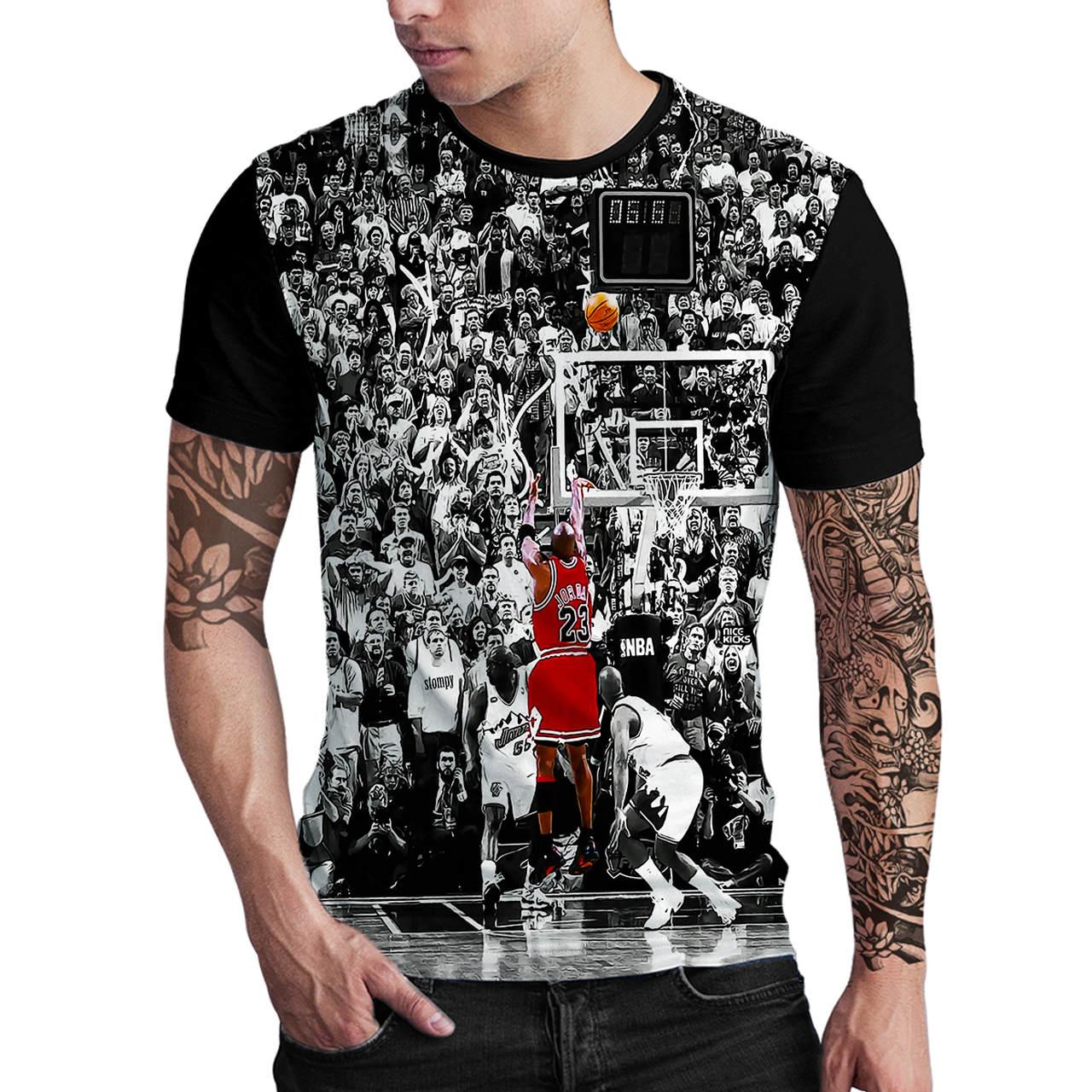 Stompy Camiseta Estampada Masculina Modelo 46