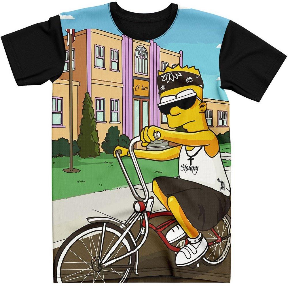Stompy Camiseta Estampada Masculina Modelo 56