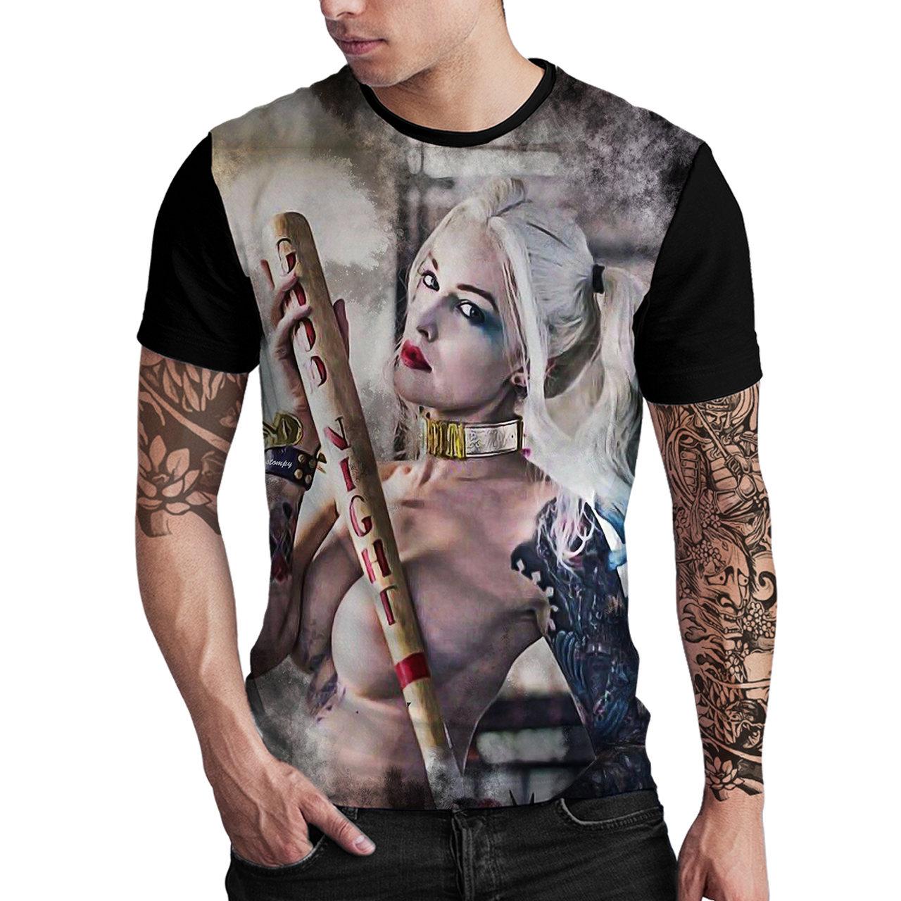 Stompy Camiseta Estampada Masculina Modelo 57