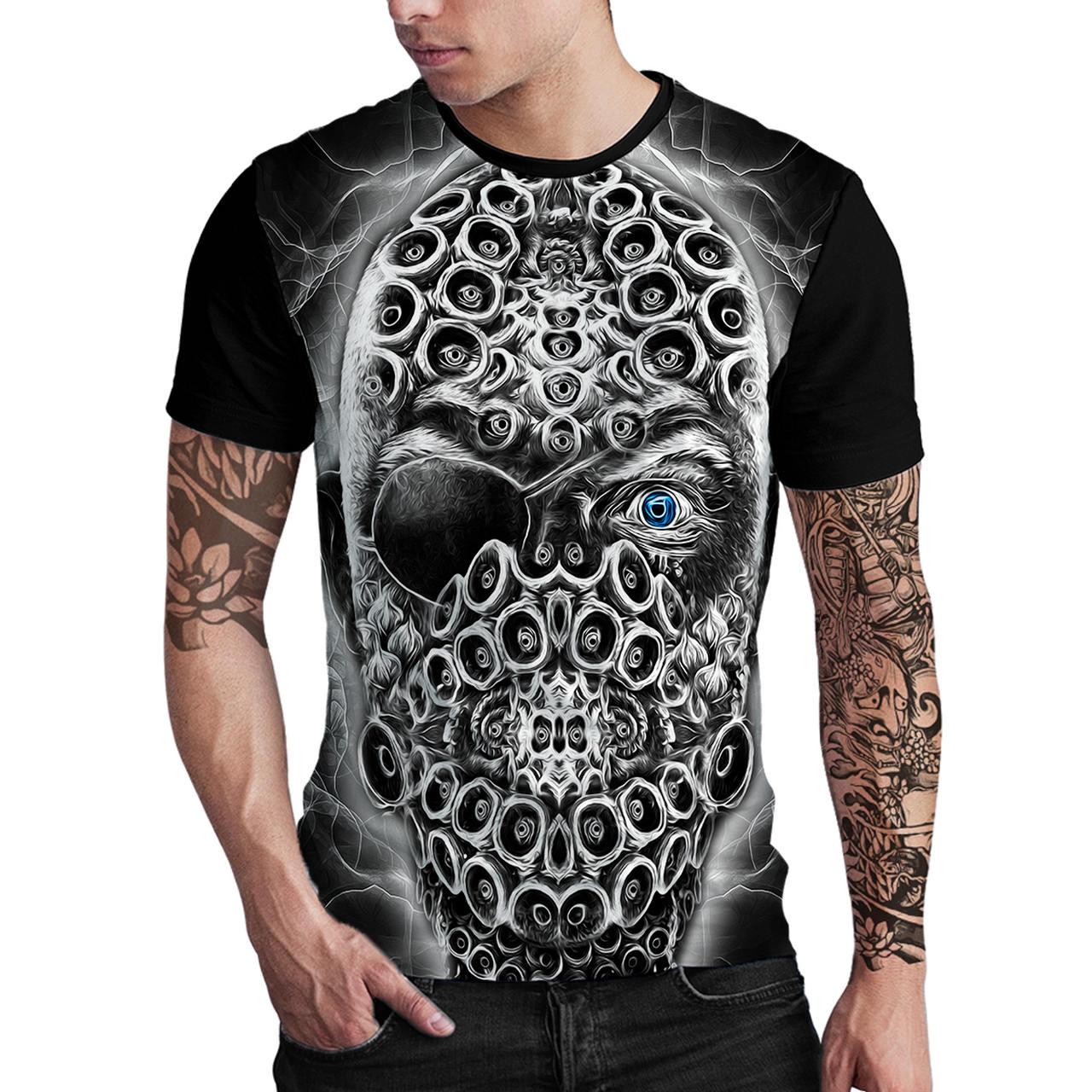 Stompy Camiseta Estampada Masculina Modelo 75