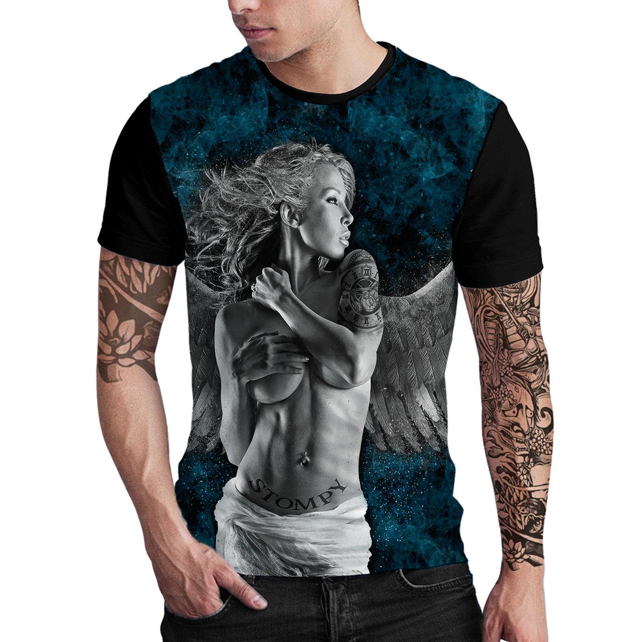 Stompy Camiseta Estampada Masculina Modelo 78