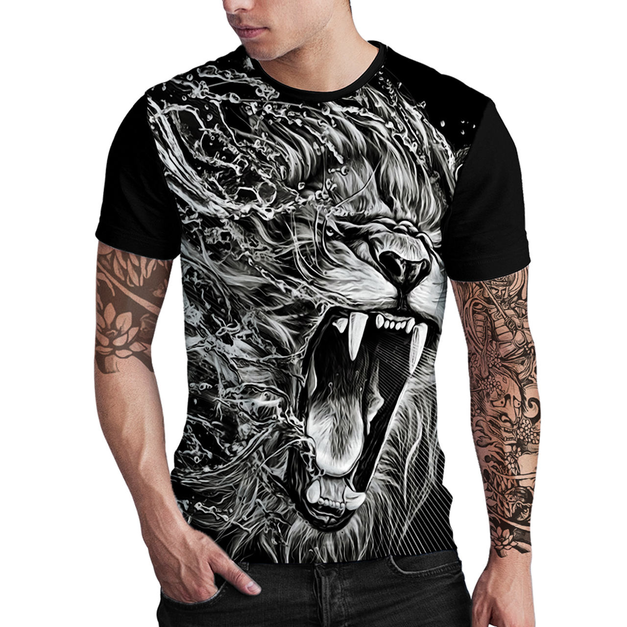 Stompy Camiseta Estampada Masculina Modelo 81