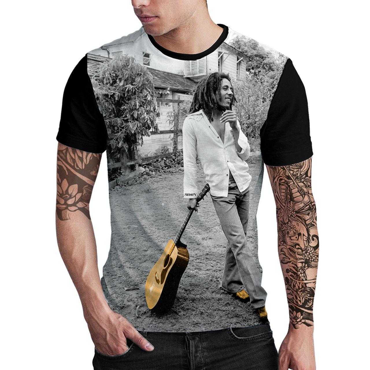 Stompy Camiseta Estampada Masculina Modelo 86