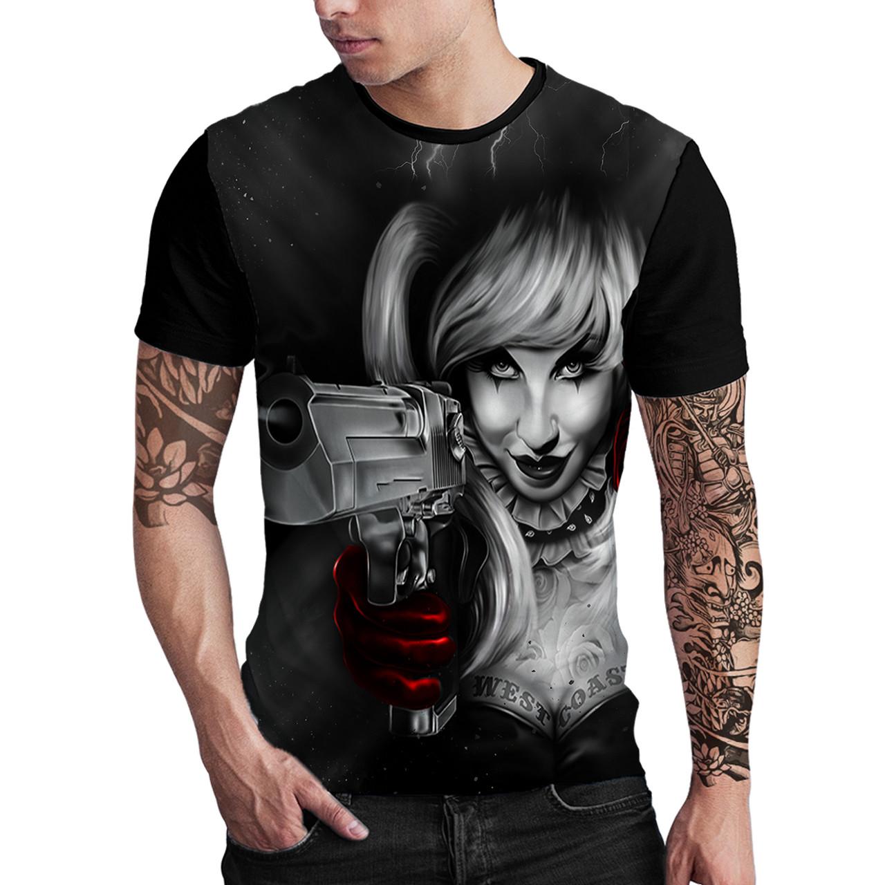 Stompy Camiseta Estampada Masculina Modelo 94