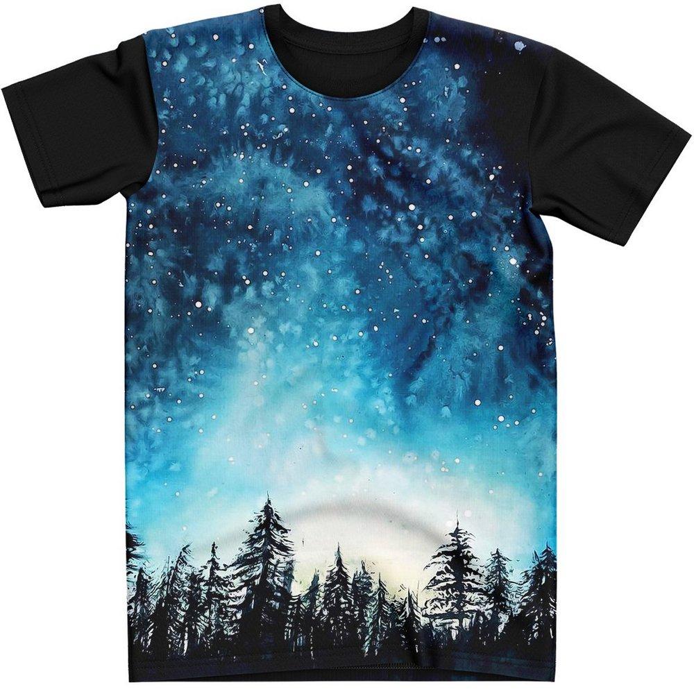 Stompy Camiseta Manga Curta Psicodelica Modelo 45