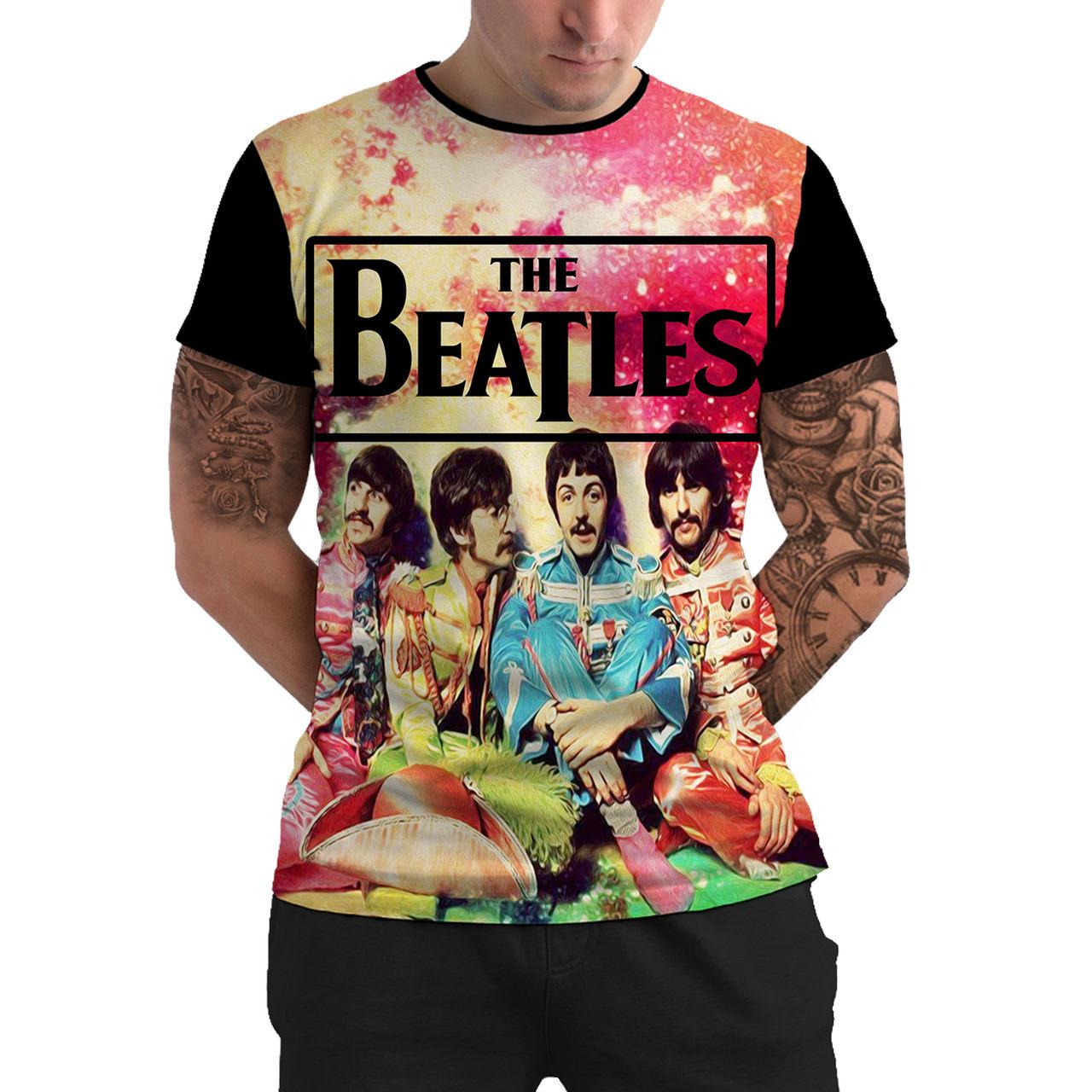 Stompy Camiseta Manga Curta Psicodelica Modelo 69