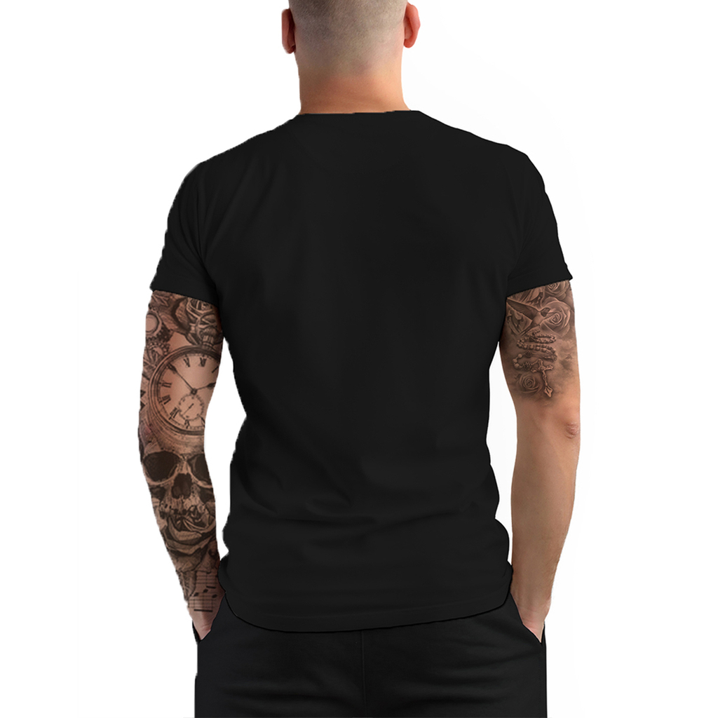 Stompy Camiseta Manga Curta Psicodelica Modelo 87