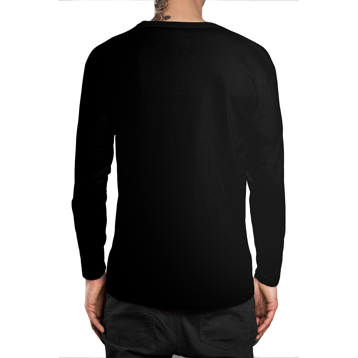 Stompy Camiseta Manga Longa Modelo 34