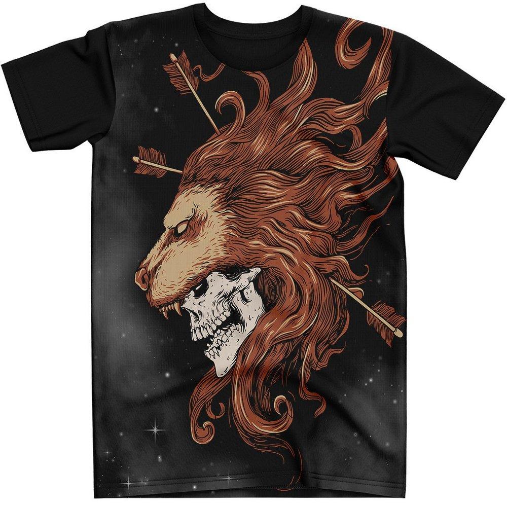 Stompy Camiseta Tattoo Tatuagem Caveira Skull 08