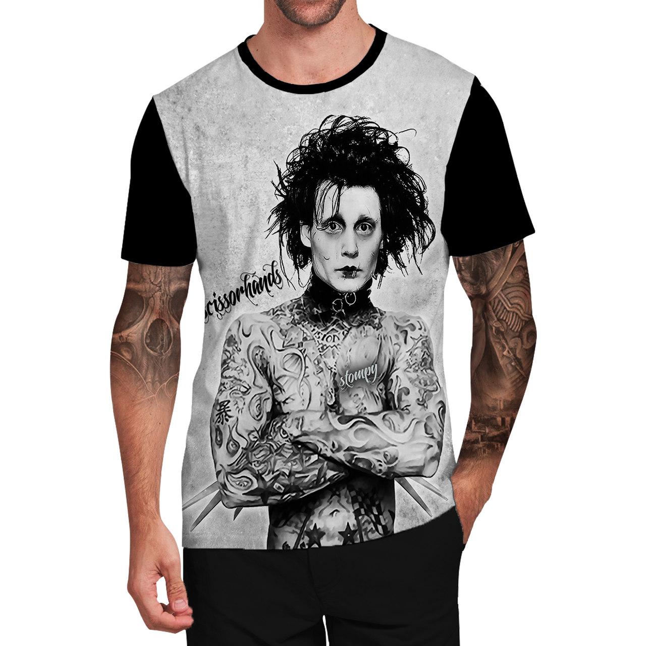 Stompy Camiseta Tattoo Tatuagem Caveira Skull 107