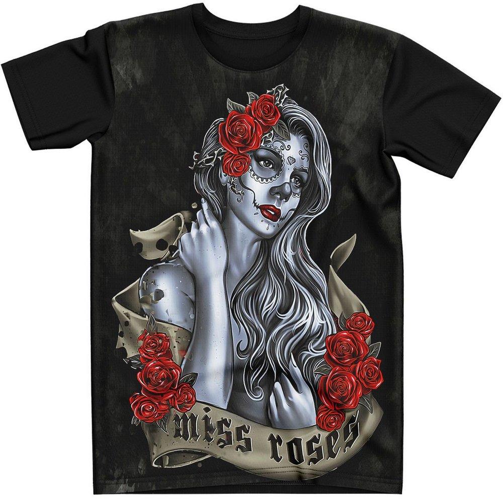 Stompy Camiseta Tattoo Tatuagem Caveira Skull 116