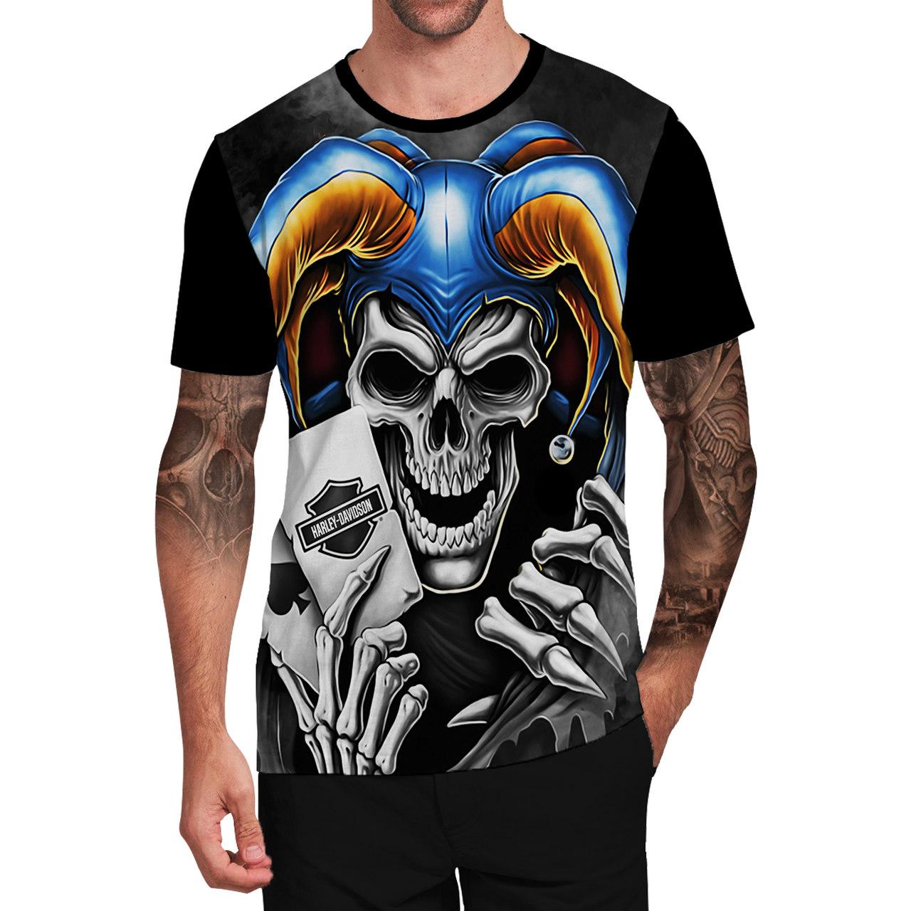 Stompy Camiseta Tattoo Tatuagem Caveira Skull 139