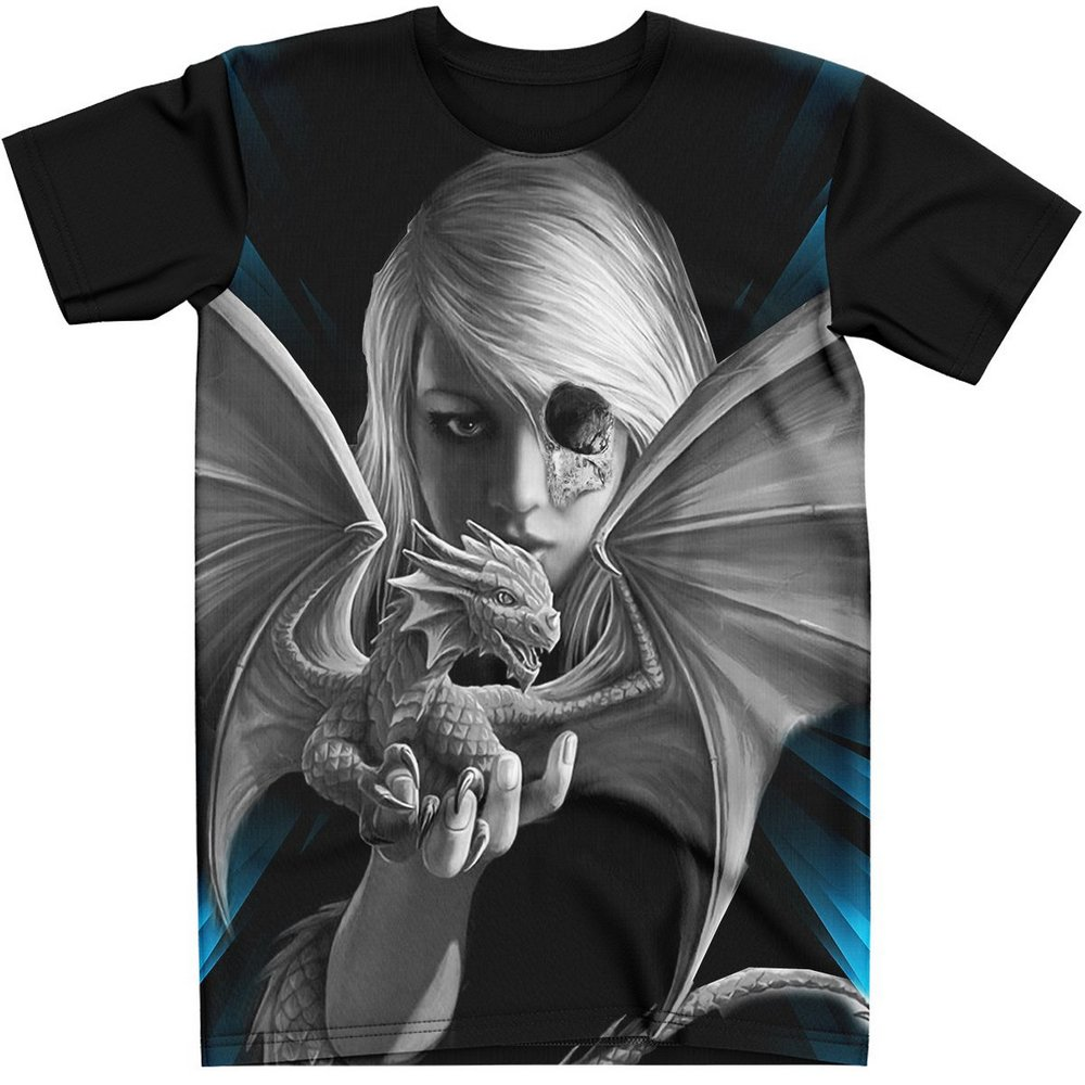 Stompy Camiseta Tattoo Tatuagem Caveira Skull 141