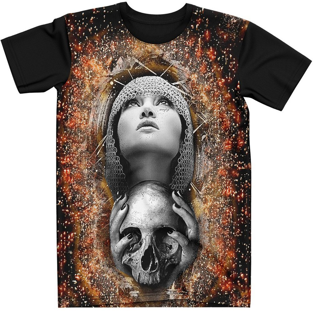 Stompy Camiseta Tattoo Tatuagem Caveira Skull 147