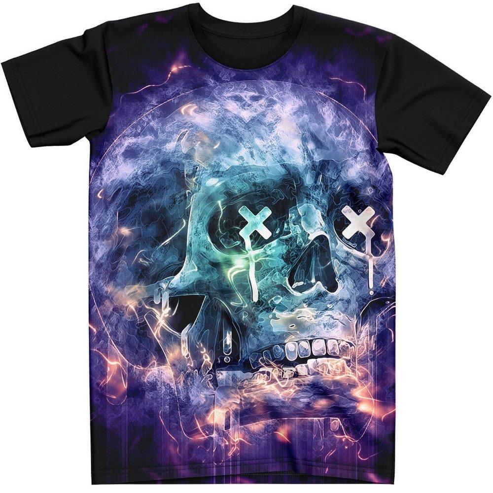 Stompy Camiseta Tattoo Tatuagem Caveira Skull 34
