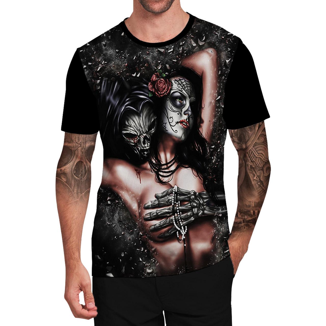 Stompy Camiseta Tattoo Tatuagem Caveira Skull 35