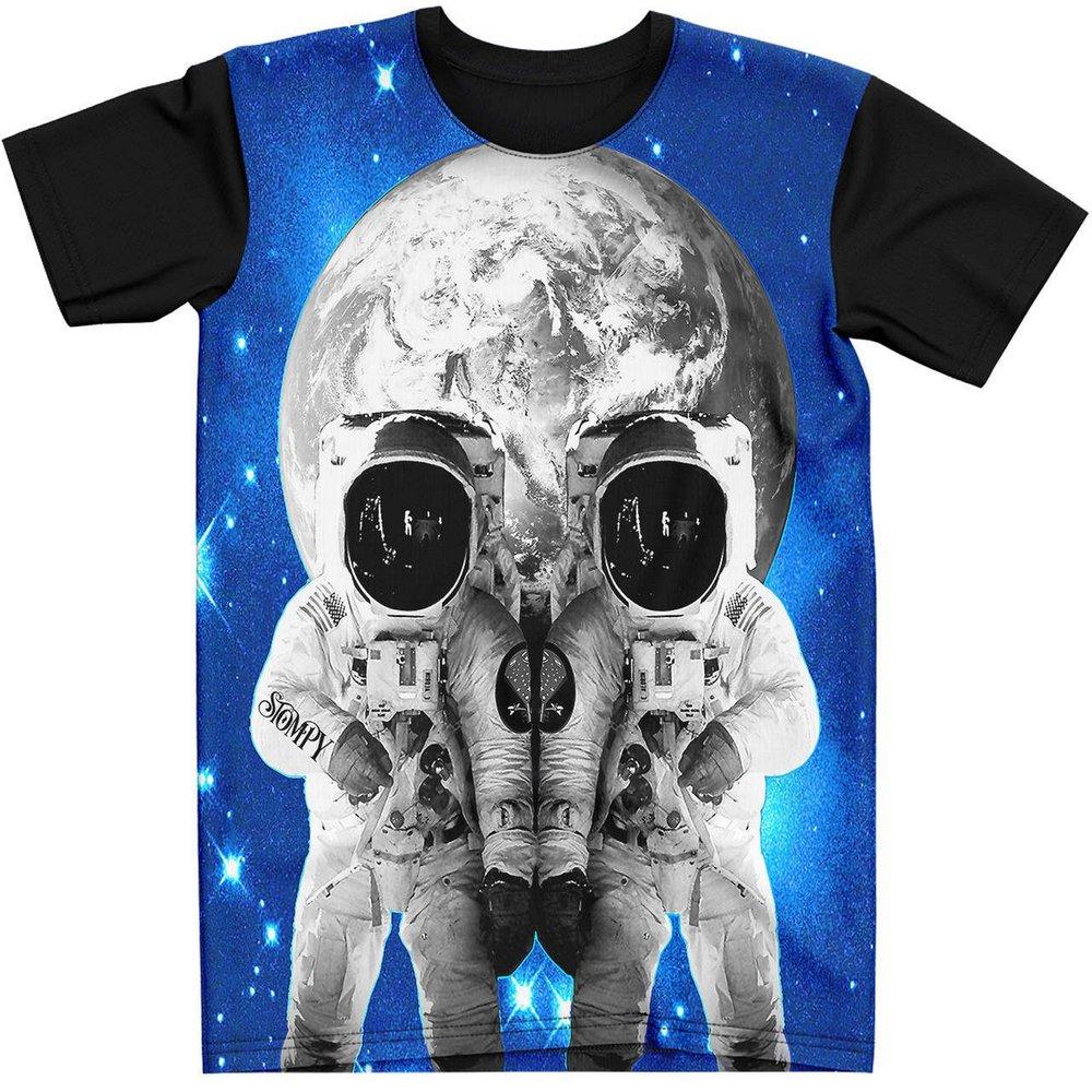 Stompy Camiseta Tattoo Tatuagem Caveira Skull 53
