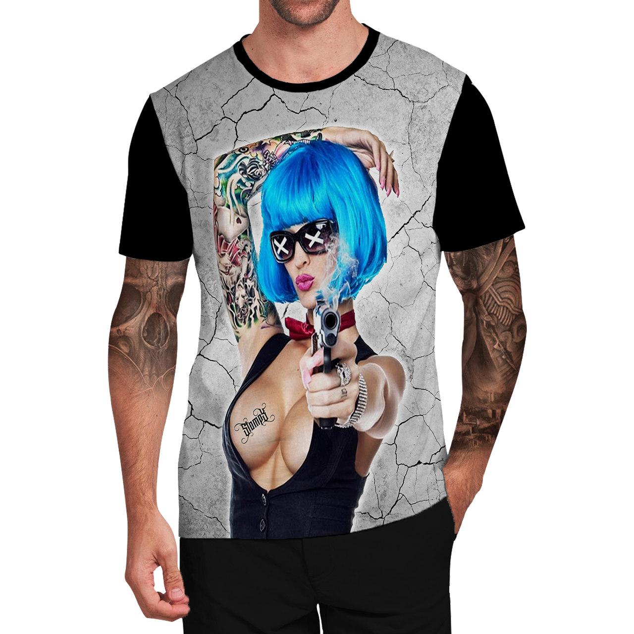 Stompy Camiseta Tattoo Tatuagem Caveira Skull 59