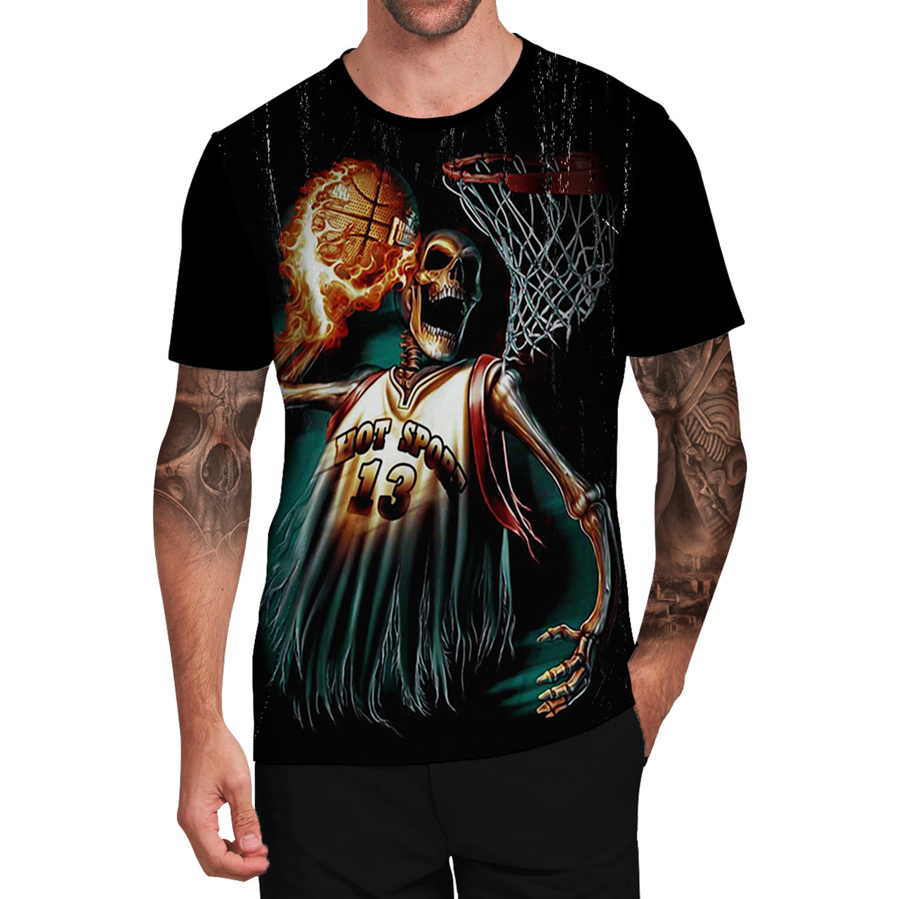 Stompy Camiseta Tattoo Tatuagem Caveira Skull 61