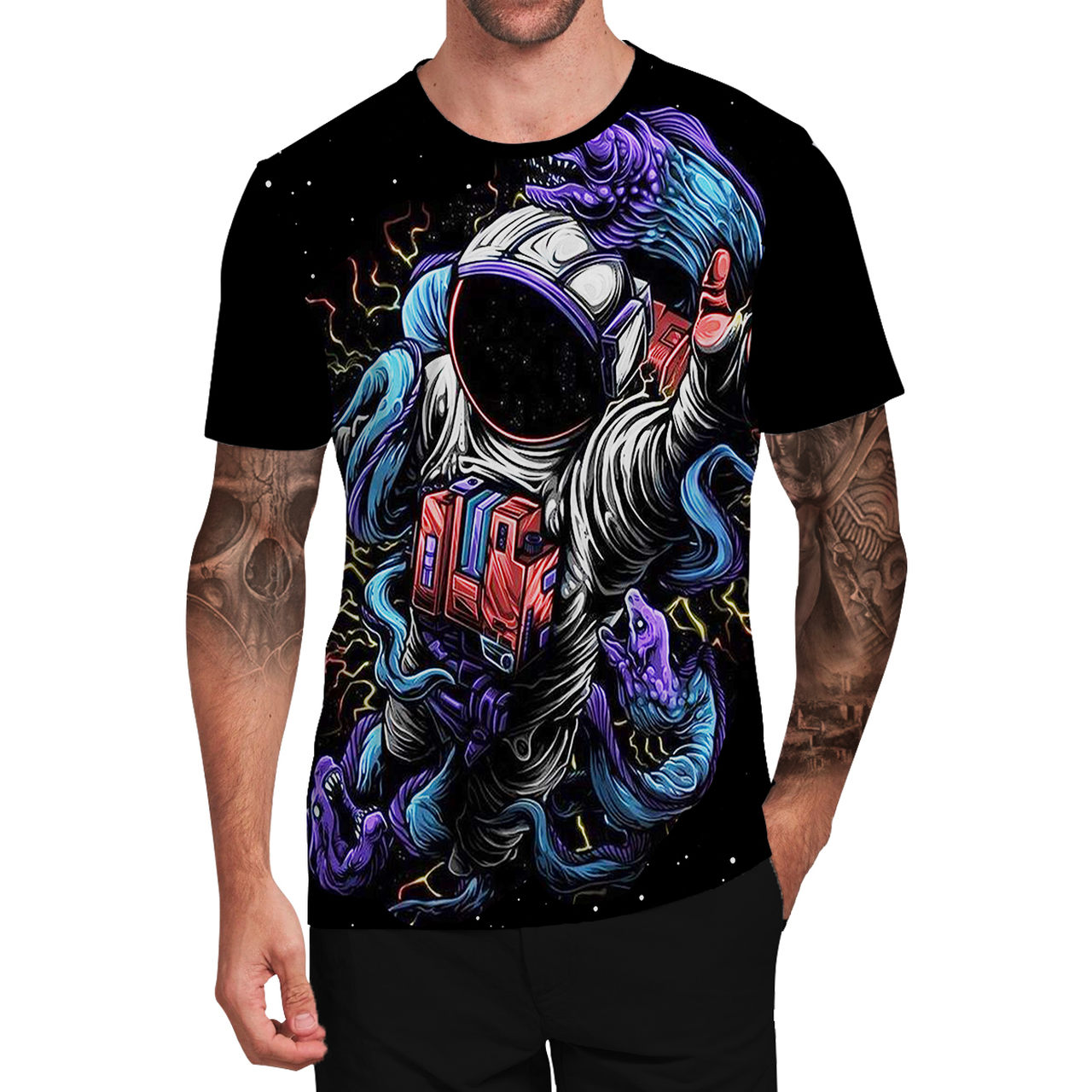 Stompy Camiseta Tattoo Tatuagem Caveira Skull 86