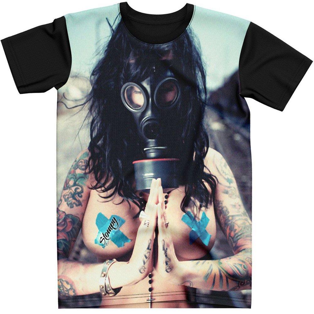 Stompy Camiseta Tattoo Tatuagem Caveira Skull 87