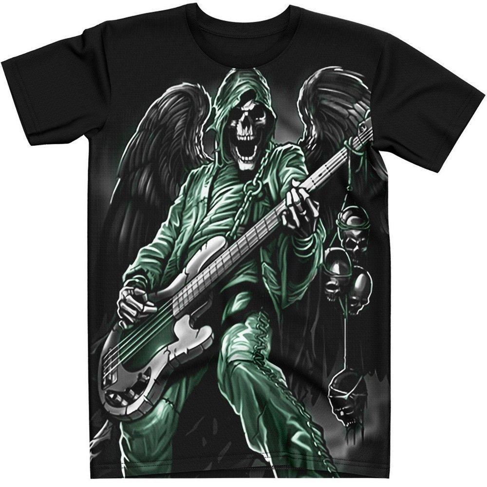 Stompy Camiseta Tattoo Tatuagem Caveira Skull 88