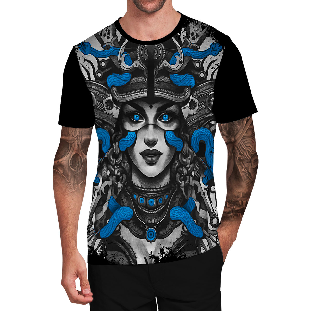 Stompy Camiseta Tattoo Tatuagem Caveira Skull 89