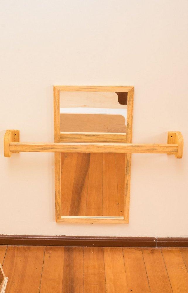Barra de Apoio Montessori - com espelho em acrílico