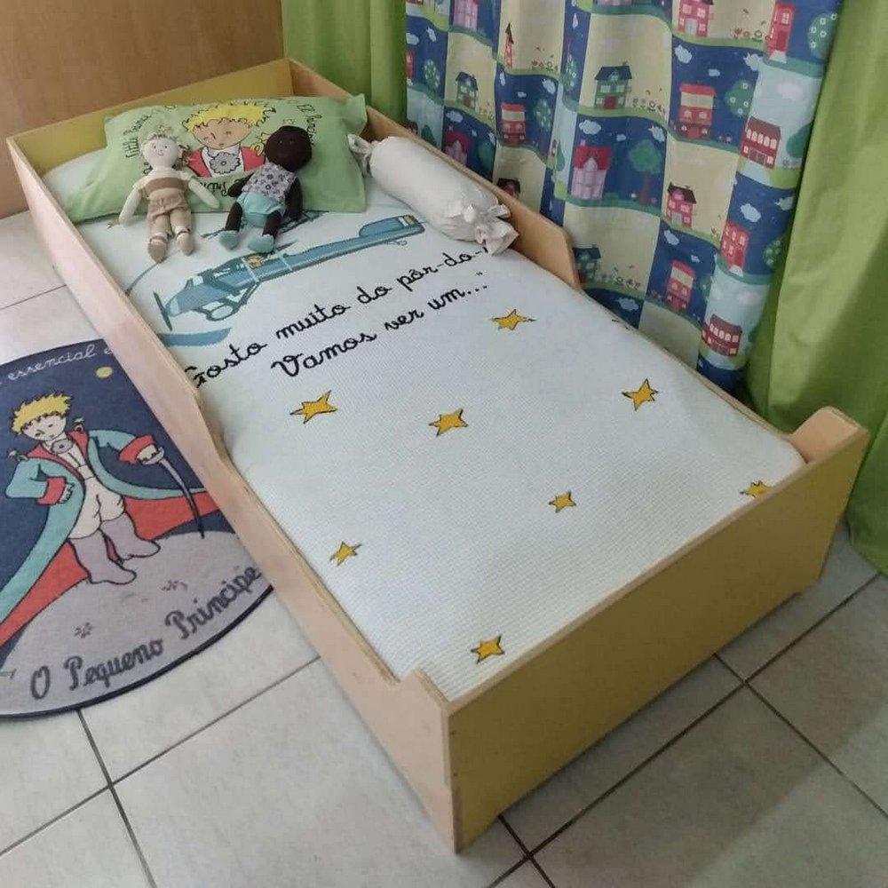 Cama Infantil Montessoriana 2 em 1 Plena Infância
