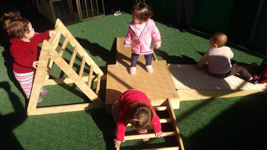 Circuito Pikler - educação infantil