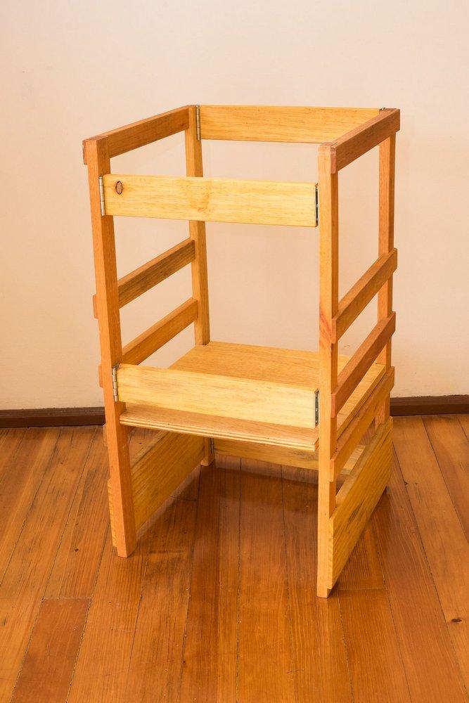 Torre de Aprendizagem Montessori 2 em 1 - Sem Bandeja