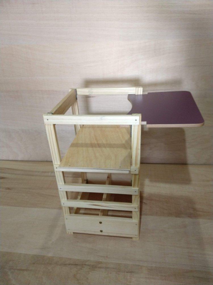 Torre de aprendizagem Montessori 3 em 1