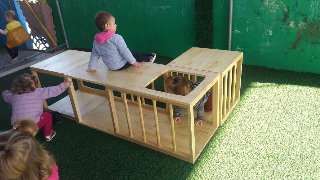 Túnel de Pikler - Educação Infantil