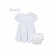 Vestido Infanti Básico Camadas