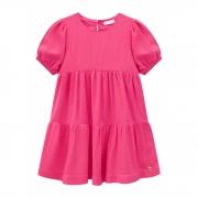 Vestido Infanti Básico Em Camadas